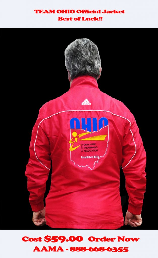 Official Team Ohio OSTA jacket
